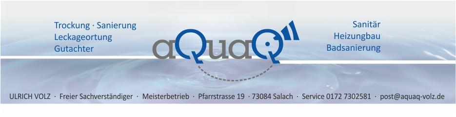 aQuaQ-Volz | Sanitär | Heizung | Leckageortung